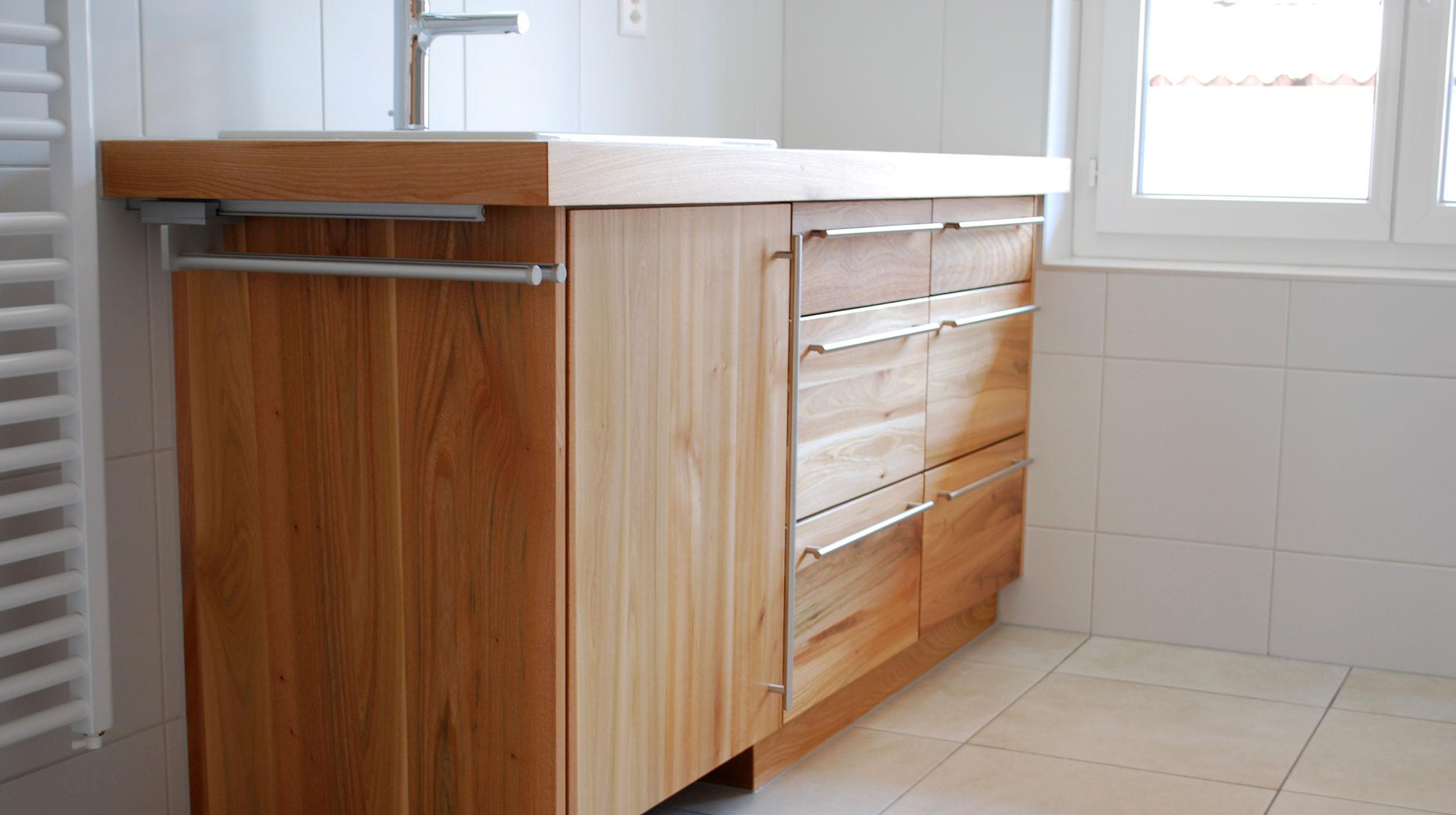 Menuiserie meuble de salle de bain